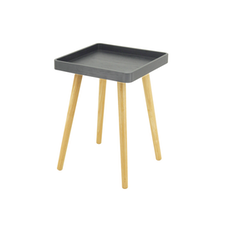 Garrett Side Table - Graphite Grey (Set of 4) - Image 1