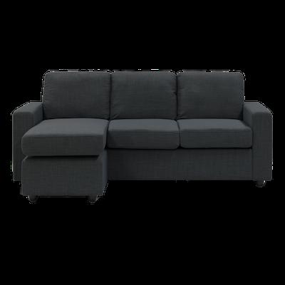 Hank L Shape Sofa - Carbon - Image 2