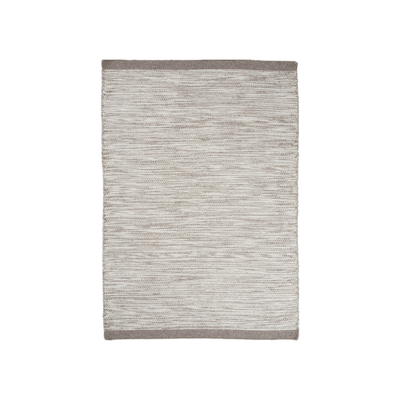 Fugito Wool Rug (1.7m by 2.4m) - Silver - Image 1