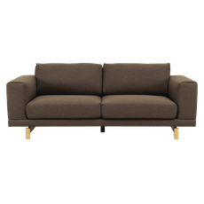 Monza 3 Seater Sofa - Chestnut - Image 2