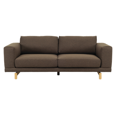 Monza 3 Seater Sofa - Chestnut - Image 1
