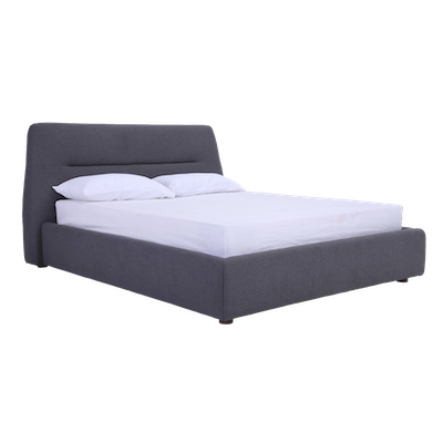 Telly Queen Bed - Dim Grey - Image 1