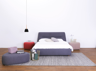 Telly Queen Bed - Dim Grey - Image 2