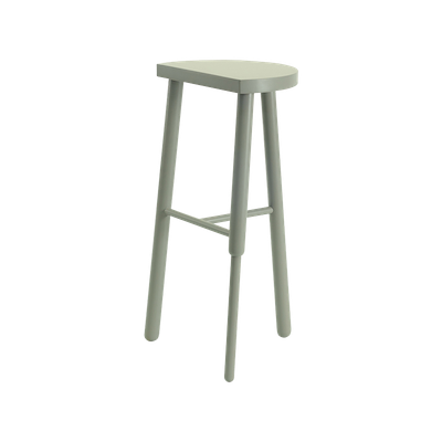 Paige Bar Stool - Grey - Image 2