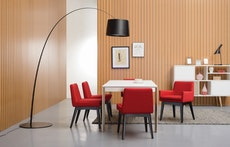 Elwood 8 Seater Dining Table - White - Image 2