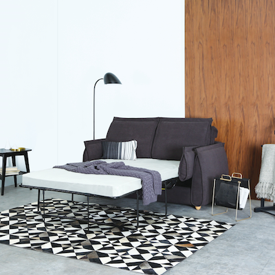 Sobol Sofa Bed - Dark Grey - Image 2
