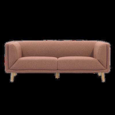 Audrey 3 Seater Sofa - Blush - Image 1
