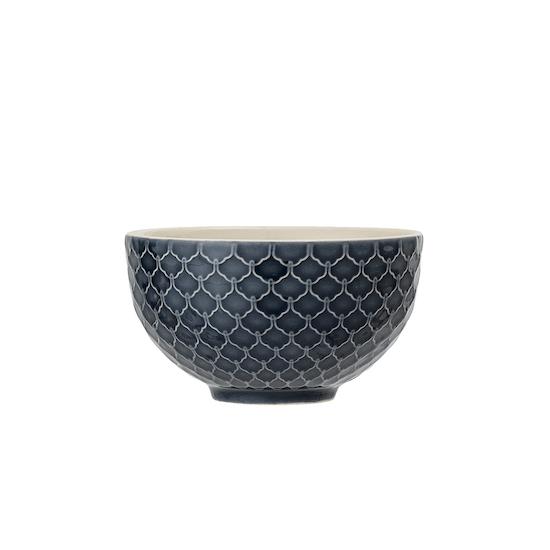 FYND - Nora Dip Bowl - Patterned Blue