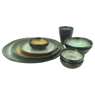 Lilac Large Bowl - Grey (Set of 4) - Image 2