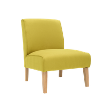 Maya Lounge Chair - Natural, Pistachio (Set of 2) - Image 2