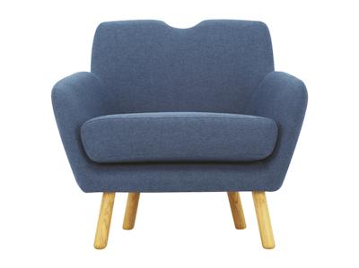 Joanna Lounge Chair - Midnight Blue - Image 2