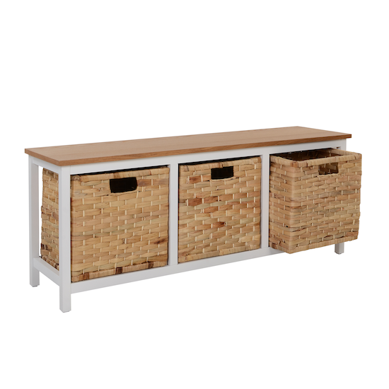 Vietnam Housewares - Ellen Storage Bench