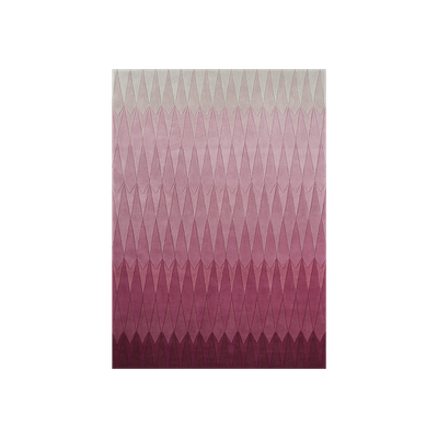 Cristallo Ombre Rug (2m by 3m) - Pink - Image 2