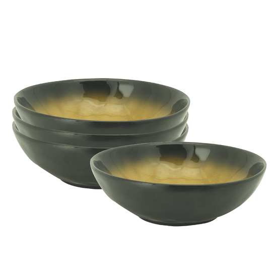 Helga - Lilac Large Bowl - Orange (Set of 4)
