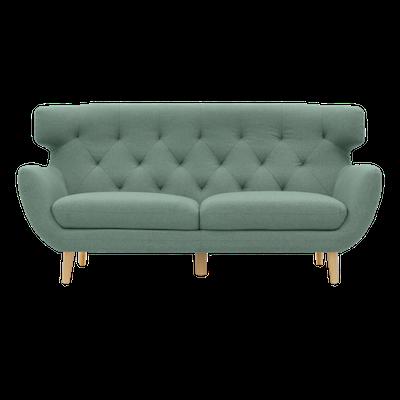 Agatha 3 Seater Sofa - Jade - Image 1