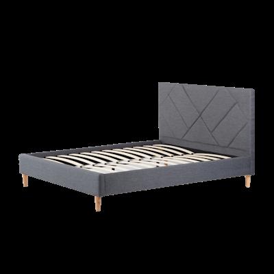 Evan King Headboard Bed - Granite - Image 2