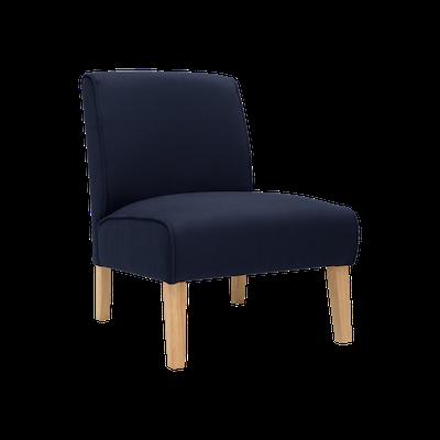 Maya Lounge Chair - Natural, Navy (Set of 2) - Image 2