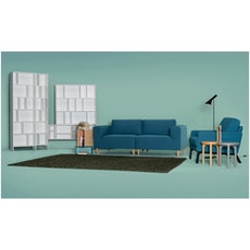 Cove Single Seater Sofa - Black, Espresso - Image 2