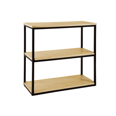 Brittany 3-Tier Shelf - Oak - Image 2