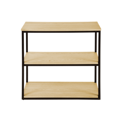 Brittany 3-Tier Shelf - Oak - Image 1