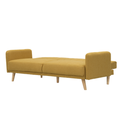 Charlotte Sofa Bed - Mustard - Image 2