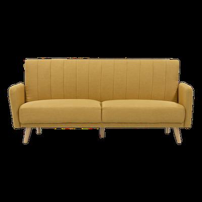 Charlotte Sofa Bed - Mustard - Image 1