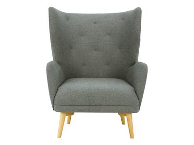 Kiwami Lounge Chair - Battleship Grey - Image 2
