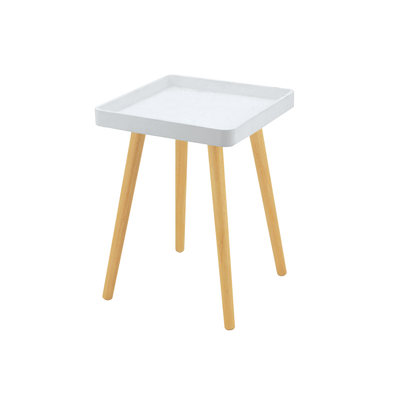 Garrett Side Table - White (Set of 4) - Image 1