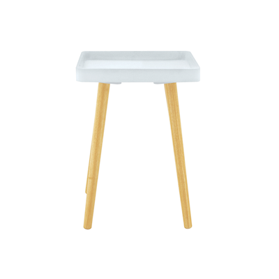 Garrett Side Table - White (Set of 4) - Image 2