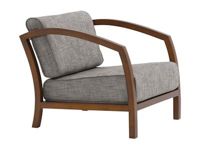 Velda Lounge Chair - Cocoa, Pebble - Image 2