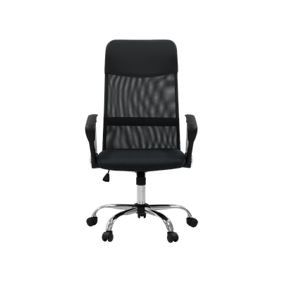 Cory High Back Office Chair - Black - Image 1