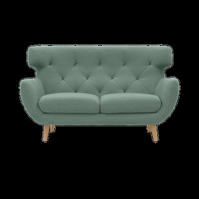 Agatha Loveseat - Jade - Image 1