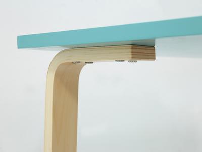 Mizuki Table 1.2m - Robin Blue - Image 2