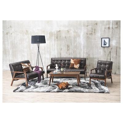Tucson 3 Seater Sofa - Natural, Chestnut - Image 2