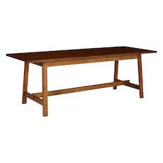 Haynes 8 Seater Dining Table - Walnut - Image 2
