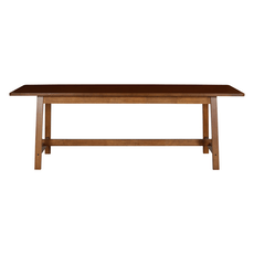Haynes 8 Seater Dining Table - Walnut - Image 1